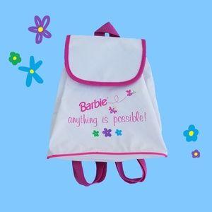 💗90s Barbie drawstring mini backpack💗